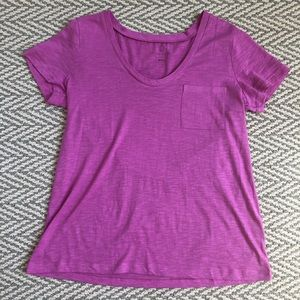 Large Pink Soft Nordstrom Tee